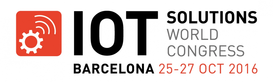 IoT Solutions World Congress in Barcelona, Oct 25-27, 2016